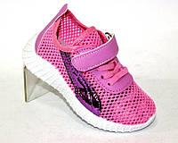 Летние кроссовки сетка для девочки, фото 1