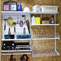 Настенные металлические стеллажи - эффективное решение для любого помещения