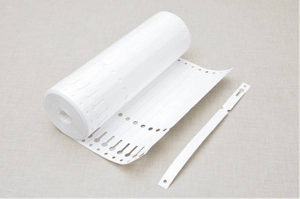 Етикетки для рослин TYVEK петля білі 1,275 х 22 см, 1000 шт, фото 2