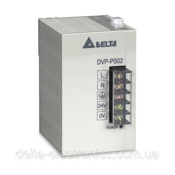 Блок живлення для контролерів, 24В/ 2А, вх.: 220В, DVPPS02