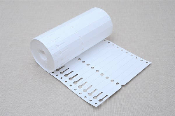 Етикетки для рослин TYVEK петля білі 1,27 х 16 см, 1000 шт, фото 2