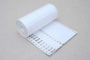 Етикетки для рослин TYVEK петля білі 1,27 х 16 см, 1000 шт