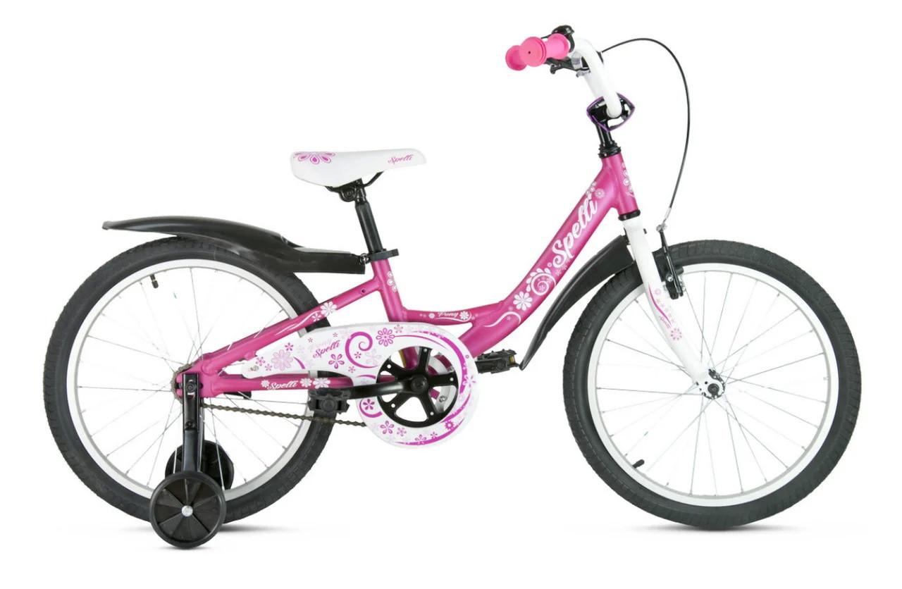 """Велосипед SPELLI PONY 18"""" розовый SP000117"""