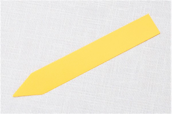 Етикетки-кілочки для рослин 18 х 120 х 0,5 мм, 50 шт - жовті