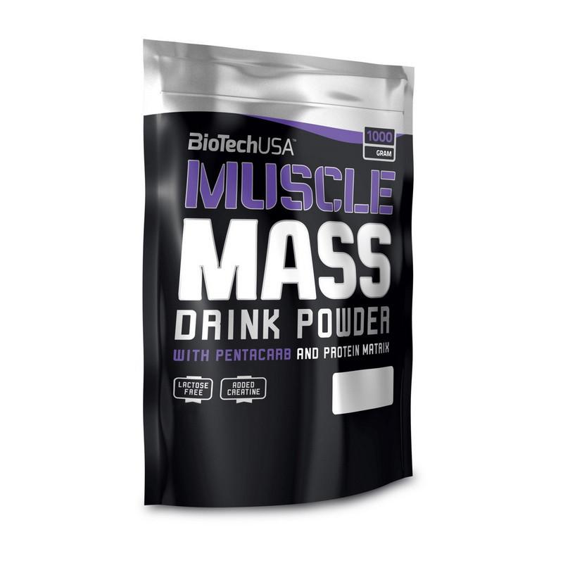 Гейнер Muscle Mass (1 kg) BioTech