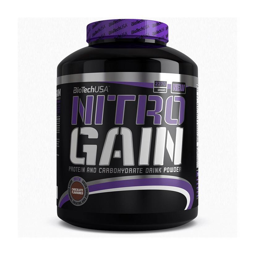 Гейнер Nitro Gain (2,27 kg) BioTech