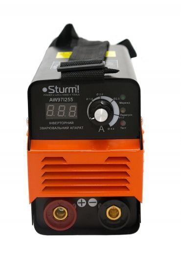 Зварювальний інвертор (255А, кнопка) Sturm AW97I255D