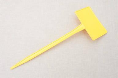 Табличка на ножке М-200 жовта