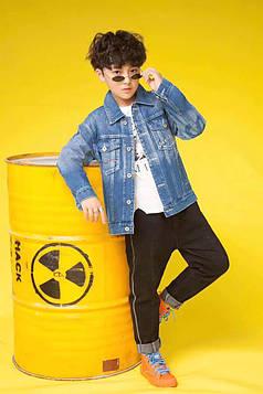 Куртка джинсовая на мальчика Supreme