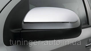 Хром-накладки на зеркала  Chevrolet Aveo 3 2005-2012 (Safe/Корея)