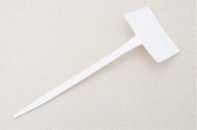 Табличка на ножке М-200 белая