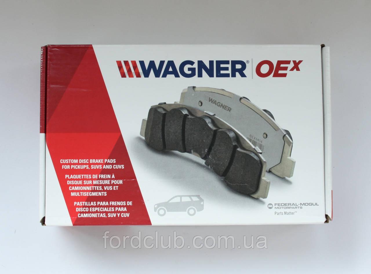 Задние колодки Ford Fusion USA, Wagner OEX1665 Ceramic для всех комплектаций