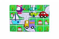 """Развивающая игра с фетра """"Транспорт"""" (ПФ-004) PF-004"""