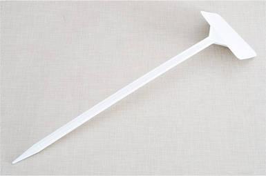 Табличка на ножке №5 белая