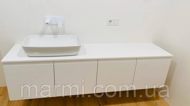 Кварцевый агломерат оптимальный материал для ванной комнаты