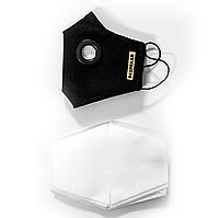 Защитная маска BEZPEKAR и 20 фильтров One Size Черный (888)