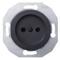 Розетка без заземления Черная модуль Renova Schneider Electric,WDE011301
