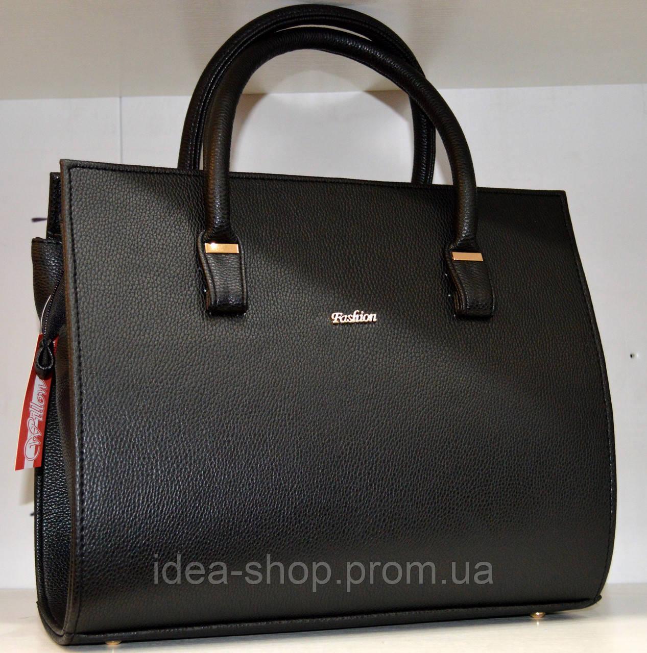 Черная женская сумка тоут fc7684c506d40