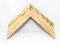 Багет дерев'яний глибокий