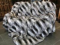 Покривало хутряне з шиншили, фото 1