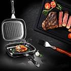 Сковорода двухсторонняя для гриля и жарки A-PLUS 30 см, фото 2