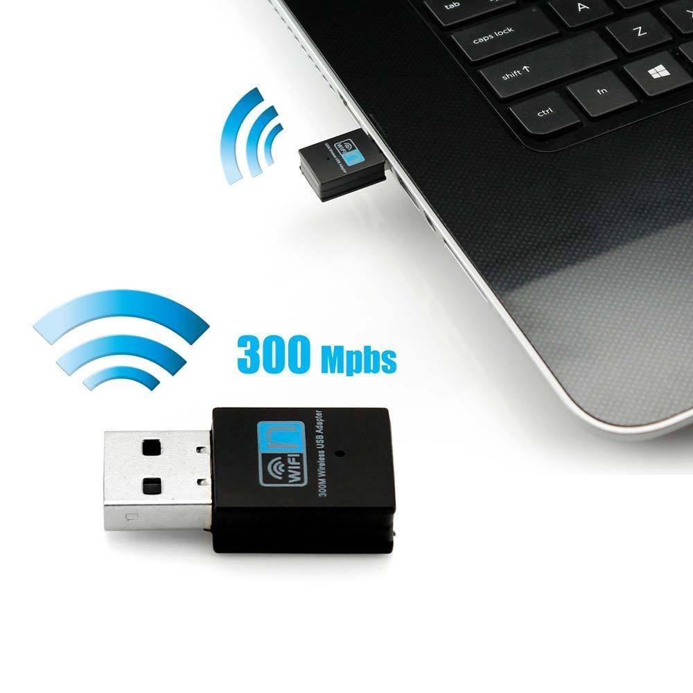 Беспроводной мини Адаптер Wi-Fi USB 802.11N 300 Mbps RTL8192EU
