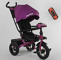 Велосипед 3-х колёсный 6088 F - 08-202 Best Trike фиолетовый 87788