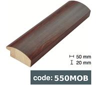 Багет дерев'яний коричнева деревина