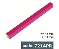 Багет дерев'яний рожевий