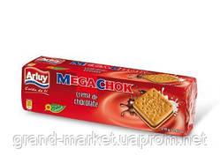 Печиво Megachok Sandwich з шоколадним кремом 210 г
