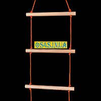 Лестница детская, подвесная, деревянная «ПРЕМИУМ»