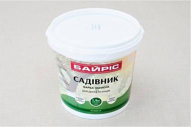"""Фарба для дерев та кущів """"Садівник"""" ТМ Bayris , 1,4 кг"""