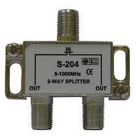 Делитель абонентский Split Sx2 CE (два равноценных выхода)