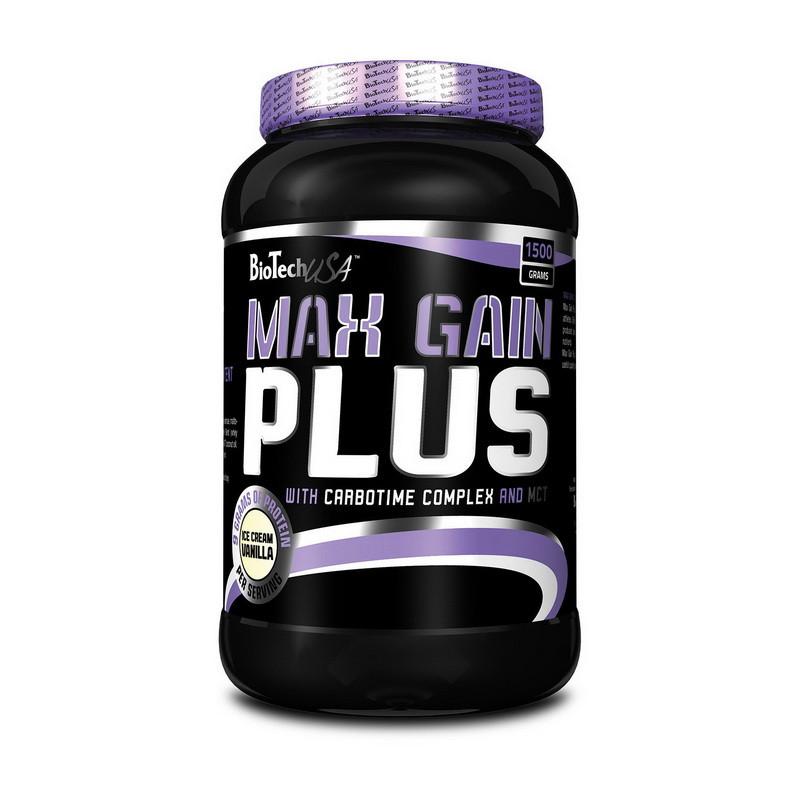 Гейнер Max Gain Plus (1,5 kg) BioTech