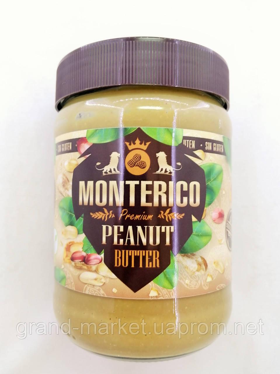 Арахисовая паста Monterico Premium без глютена 500 г