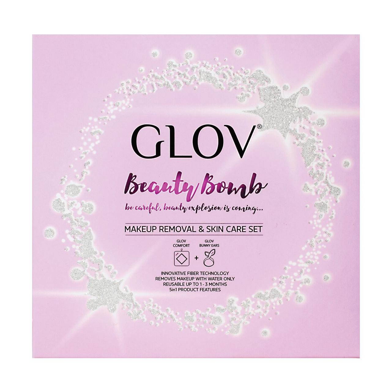 Набір GLOV Beauty Bomb, Вушка-обруч, рукавичка для демакіяжу. - фото 2