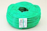 Кембрик - агрошнурок, агротрубка Аграріо - Agrario 4 мм, 5 кг, ПВХ зелений