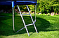 Дитячий Батут Atleto 252 см з Зовнішньої сіткою + Сходи на пружинах, фото 6