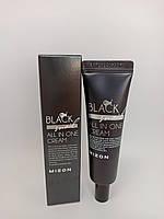 MIZON Black Snail All In One Cream крем Премиум-класса на основе секреции Иберийской черной улитки (Arion lusi