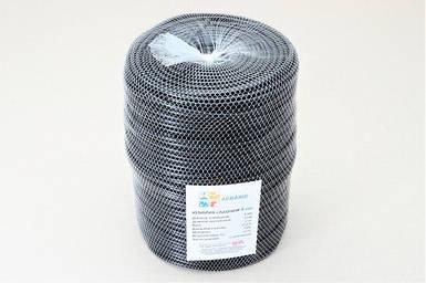 Кембрик - агрошнурок, агротрубка Аграрио - Agrario 4 мм, 2 кг, ПВХ черный