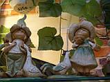 Статуэтка, Садовая фигурка, 27х13х7 см, Девочка с петухом, Подарки и сувениры, Днепропетровск, фото 3