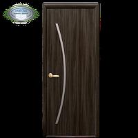 Дверное полотно Дива кедр экошпон