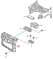 "Передняя панель (""Телевизор"") VW Beatle 2011 - USA     5C5805588AD"