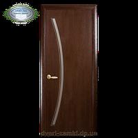 Дверное полотно Дива орех экошпон