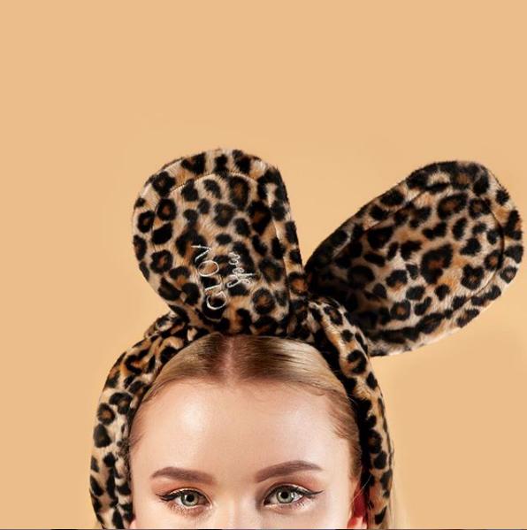 Обруч GLOV Bunny Ears - пантера - фото 2