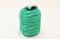 Кембрик (агрошнурок) для підв'язування 5 мм зелений 1 кг Кордіолі (Cordioli)