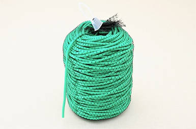 Кембрик (агрошнурок) для подвязывания 5 мм Экстра зеленый 1 кг Кордиоли - Cordioli