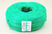 Кембрик - агрошнурок, агротрубка Аграріо - Agrario 5 мм, 5 кг, ПВХ зелений