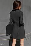 Платье-пиджак облегающего кроя, фото 4