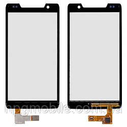 Сенсорный экран для Motorola RAZR D3 XT919, черный, оригинал